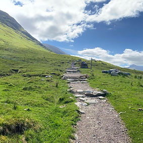 Start of Ben Nevis Path