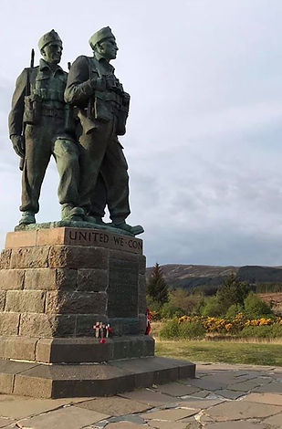 Commando Memorial. Spean Bridge.