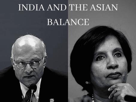 India's Asian Balance