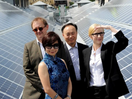Australia invests AU$9m into Chinese solar energy company