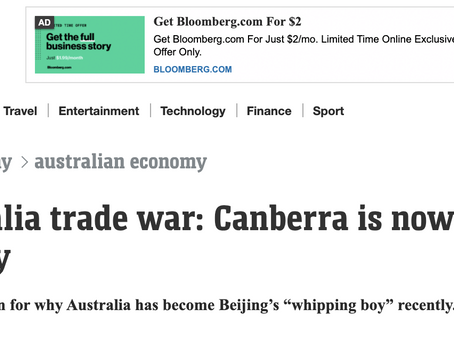 "Think ""Canberra is Beijing's whipping boy""? Check the facts"