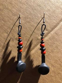 écouteurs et perles