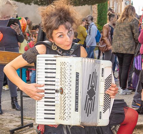 Prestation accordéonistique