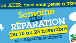 """Atelier """"Réparer et customiser vos vêtements"""" le 18 novembre"""