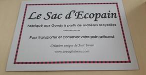 Le Sac d'Écopain en vente à l'Épicerie tabac des Gonds