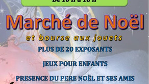 Marché de Noël à Courcoury le 24 novembre