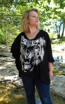 Cape noire, tigre