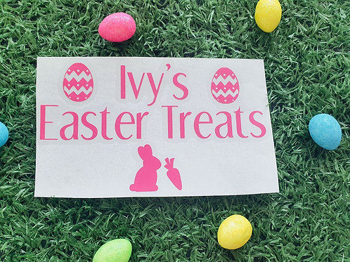 Easter decal
