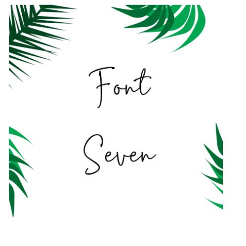 Font 7 Labels