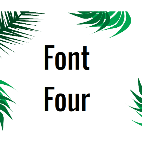 Font 4 Labels