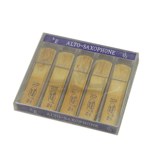 Flying Goose Alto Saxophone Reeds Strength 1-3, Pack of 10
