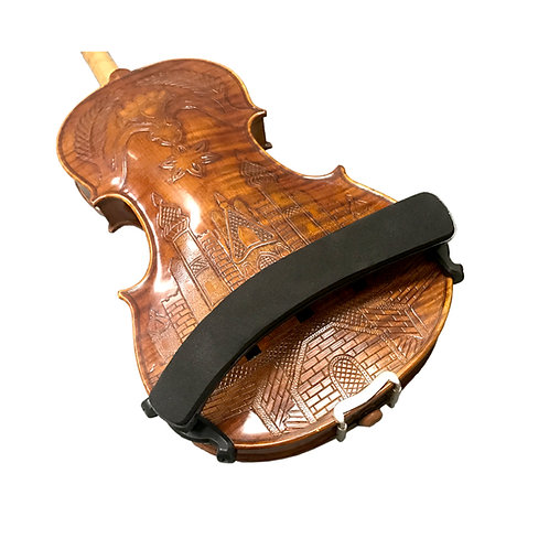 Paititi Portable Foam Shoulder Rest for 1/2 - 4/4 Violin with Adjustable Feet