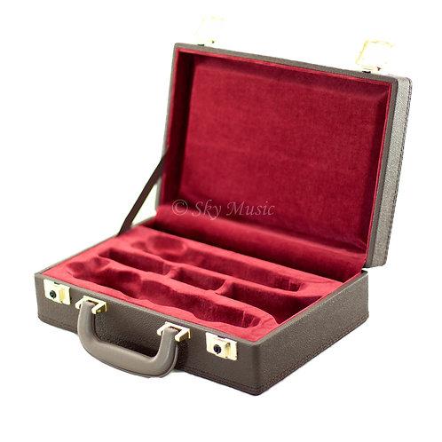 Sky CLHC501 Premium Bb Clarinet Case Brown Imitation Leather Exterior