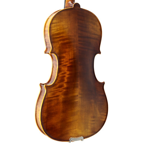 Paititi 4/4 Full Size PTVNHY100 Premium Hand Carved Ebony Fitted Violin