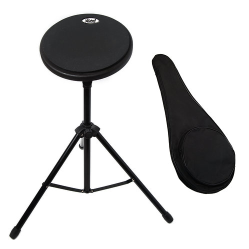 Paititi 8 inch Practice Drum Pad with Adjustable Stand & Carrying Bag