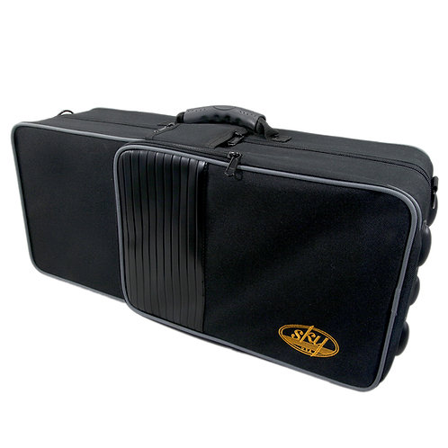 Sky Bb Trumpet Case w Handles Backpack/Shoulder Straps, lightweight and durable