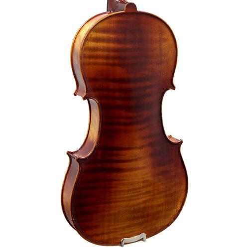 Paititi 4/4 Full Size PTVNHH100 Premium Hand Carved One-Piece Back Violin