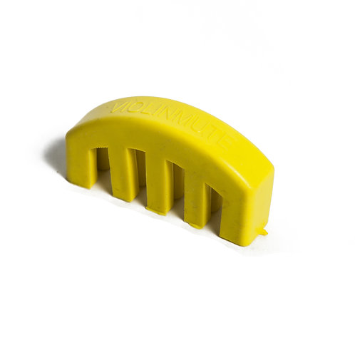 Brand New Lightweight Heavy Rubber 4/4 Violin Small Viola Practice Mute Yellow