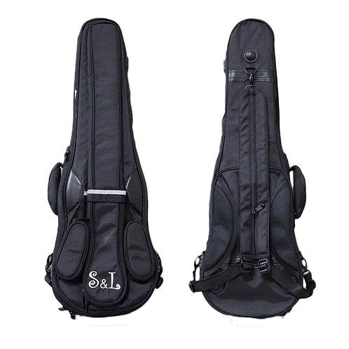 PAITITI Triangular Full Size Violin Soft Bag Lightweight Backpackble Violin Bag