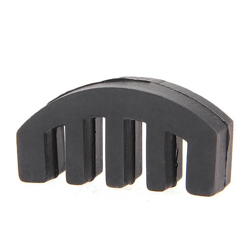 Brand New Lightweight Heavy Rubber 4/4 Violin Small Viola Practice Mute Black