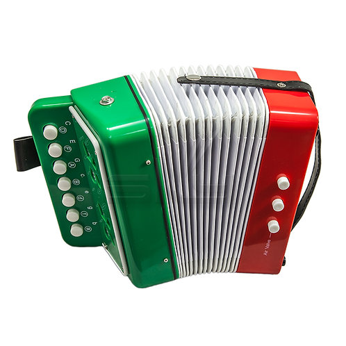 SKY Accordion MX Flag 7 Button 2 Bass Kid Music Instrument *Great Gift*
