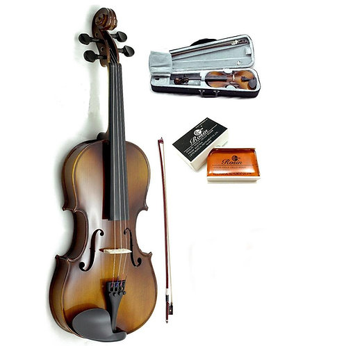 SKY High Quality 15.5-16 Inch Acoustic Viola with Bow Case Rosin
