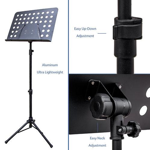 Paititi Brand New Premium Strong Aluminum Conductor Music Stand