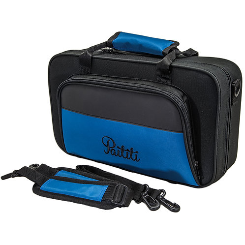 Paititi Lightweight Bb Clarinet Case, Backpackable, Shoulder Strap with Exterior