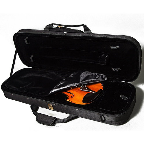 Paititi Full Size Oblong Shape Sport Style Lightweight Violin Case Backpackable