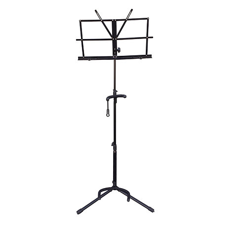 Sky New Durable Adjustable Guitar & Sheet Music Stand with Neck Support Combo AL
