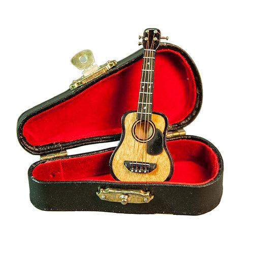 Sky Mini Ukelele Miniature Musical Instrument 1:12 Small Ornament 3.5 Inch