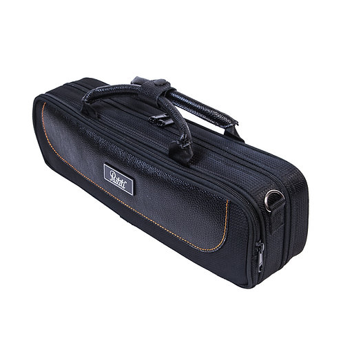 Paititi Lightweight B foot Flute Case, Exterior Pocket with Straps