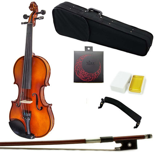 SKY Solid Wood Viola Outfit with Lightweight Case Bow and Rosin 12''-16.5''