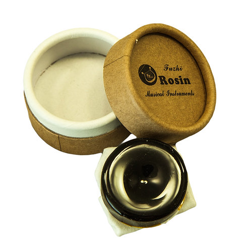 Fuzhi High Quality Rosin for Violin Viola Cello, Light and Low Dust