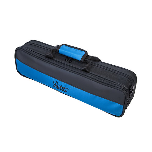 Paititi Lightweight C foot Flute Case, Large Exterior Pocket and Strap