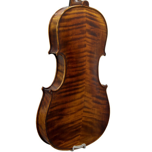 Paititi PTVNSH100 Premium Hand Carved Ebony Fitted Violin Outfit