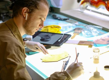 Dallin Orr - Stained Glass Artist at Holdman Studios