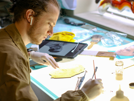 Dallin Orr - Stained Glass Artist at Holdman Studios
