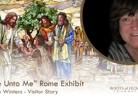 "Charlene Winters - ""Come Unto Me"" Exhibit Visitor Story"