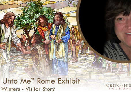 """Charlene Winters - """"Come Unto Me"""" Exhibit Visitor Story"""