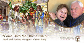 "Judd and Pauline Morgan - ""Come Unto Me"" Exhibit Visitor Story"
