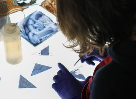Irina Harding - Artist at Holdmand Studios