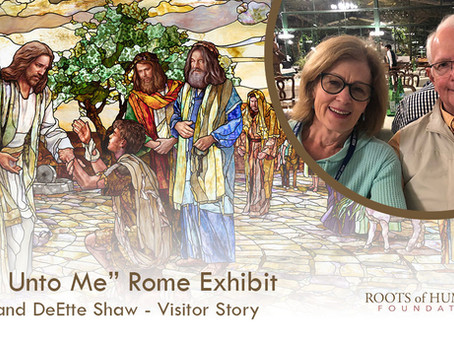 """George and DeEtte Shaw  - """"Come Unto Me"""" Exhibit Visitor Story"""