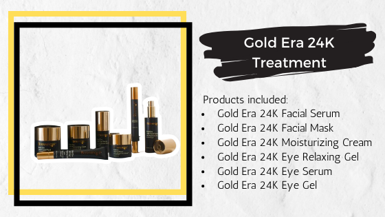 Gold Era 24K Treatment products