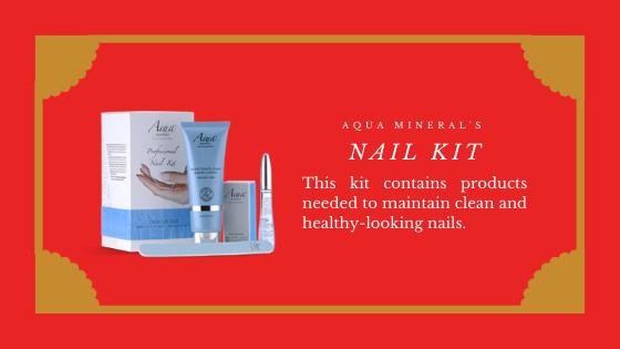 Aqua Mineral's Nail Kit