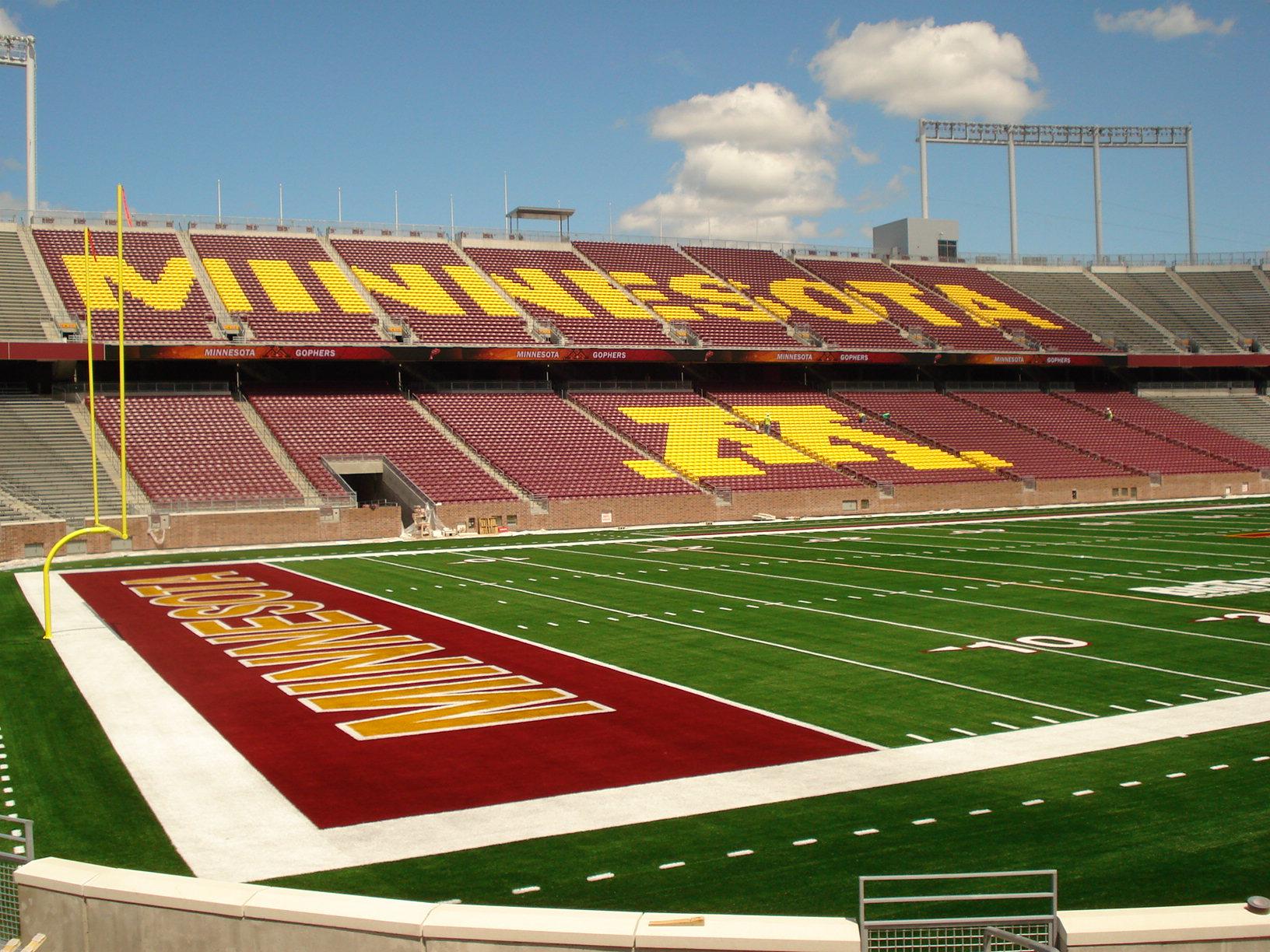 U of M TCF Stadium
