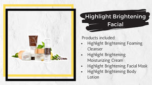 Highlight Brightening Facial Treatment products