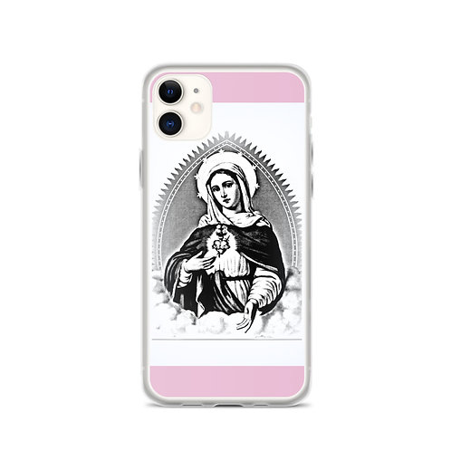 Pink iPhone Case Virgin Mary Immaculate Heart Gifts of faith