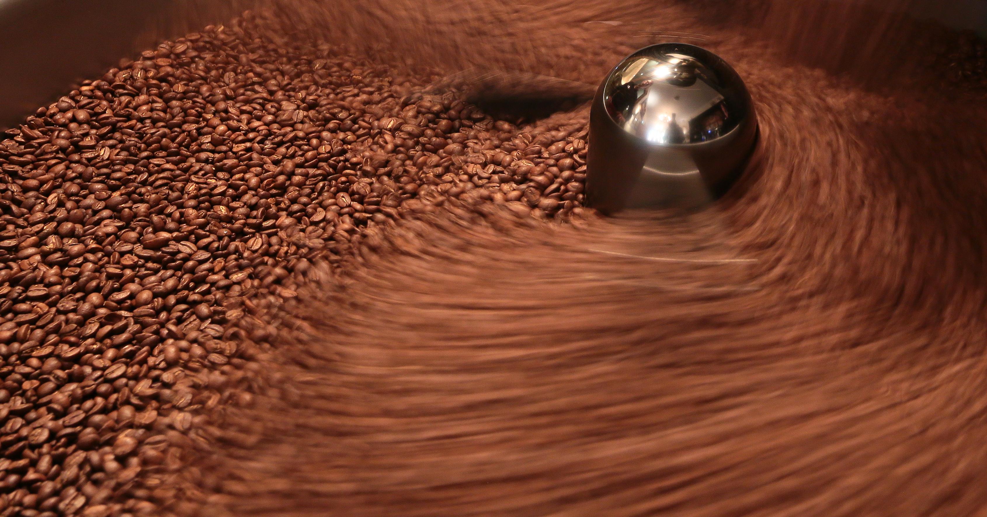 Kaffeerösterei-Trommelröster (2)