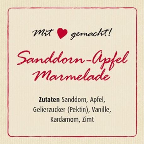 Sanddorn-Apfel Marmelade